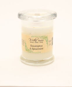 status candle eucalyptus spearmint 8oz