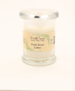 status candle fresh roast coffee 8oz