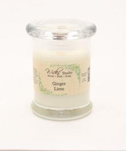 status candle ginger lime 8oz