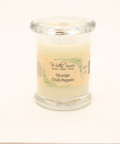 status candle orange chili pepper 8oz