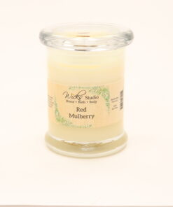 status candle red mulberry 8oz