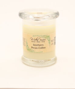 status candle southern pecan coffee 8oz