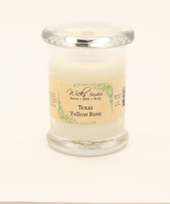 status candle texas yellow rose 8oz