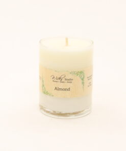 votive candle almond 3oz