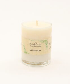 votive candle amaretto 3oz