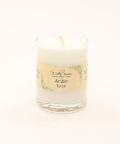 votive candle amber lace 3oz