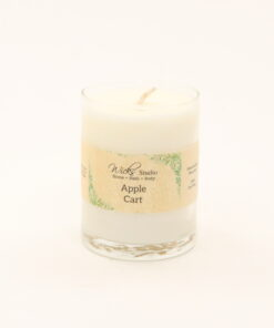 votive candle apple cart 3oz