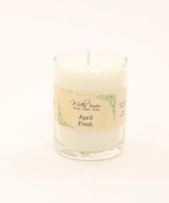 votive candle april fresh 3oz