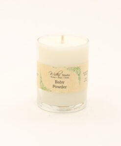 votive candle baby powder 3oz