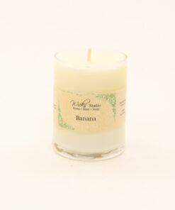 votive candle banana 3oz