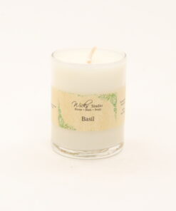 votive candle basil 3oz