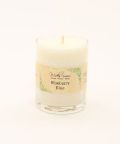 votive candle blueberry blue 3oz