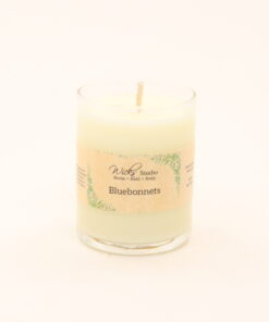 votive candle bluebonnets 3oz