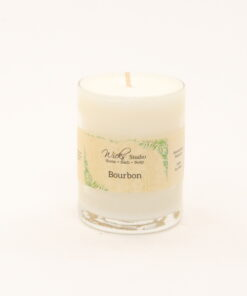 votive candle-bourbon 3oz