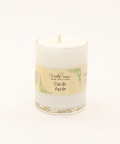 votive candle candy apple 3oz