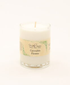 votive candle cannabis flower 3oz