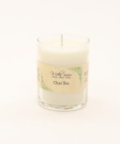 votive candle chai tea 3oz