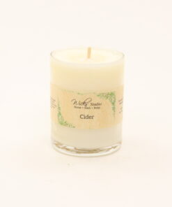 votive candle cider 3oz