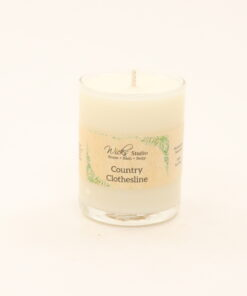 votive candle country clothesline 3oz