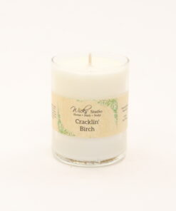 votive candle cracklin birch 3oz