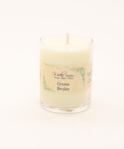 votive candle creme brulee 3oz