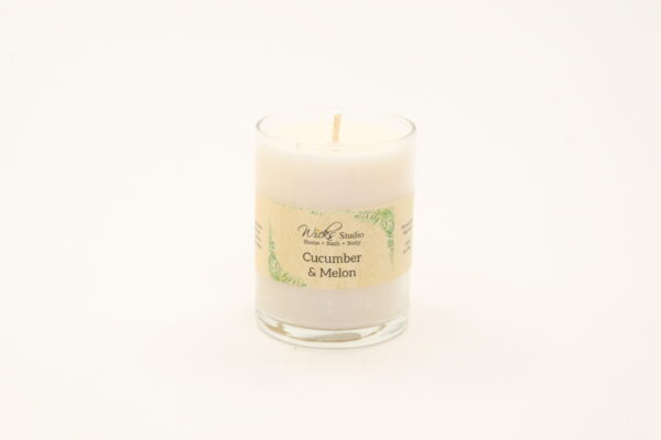 votive candle cucumber melon 3oz