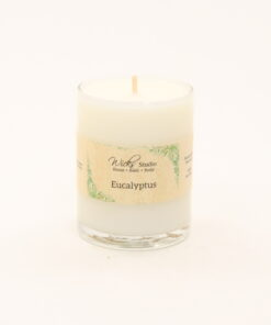votive candle eucalyptus 3oz