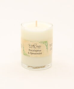 votive candle eucalyptus spearmint 3oz