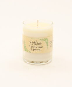 votive candle frankincense myrrh 3oz