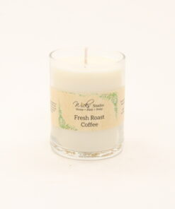 votive candle fresh roast coffee 3oz