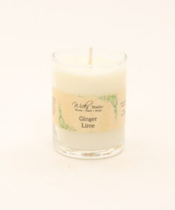 votive candle ginger lime 3oz