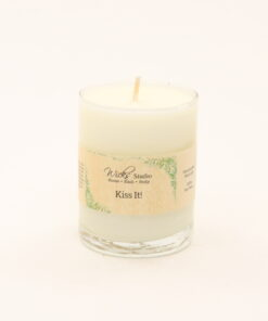 votive candle kiss it 3oz