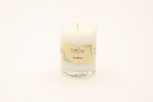 votive candle leather 3oz