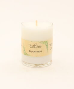 votive candle peppermint 3oz