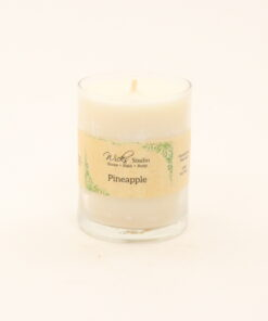 votive candle pineapple 3oz