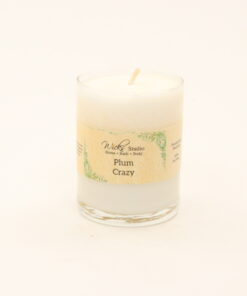 votive candle plum crazy 3oz