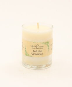 votive candle red hot cinnamon 3oz