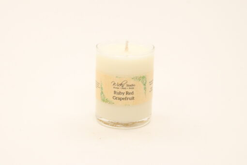 votive candle ruby red grapefruit 3oz