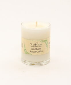 votive candle southern pecan coffee 3oz
