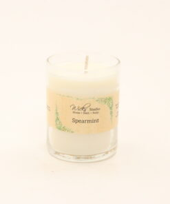 votive candle spearmint 3oz