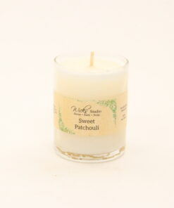votive candle sweet patchouli 3oz