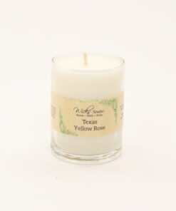 votive candle texas yellow rose 3oz
