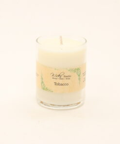 votive candle tobacco 3oz