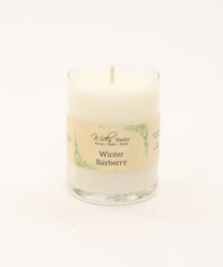 votive candle winter bayberry 3oz