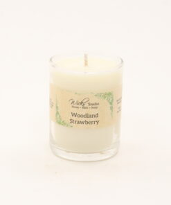votive candle woodland strawberry 3oz