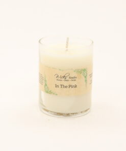 votive candle in the pink 3oz