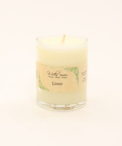 votive candle linen 3oz