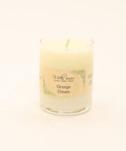 votive candle orange cream 3oz