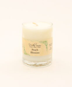 votive candle peach blossom 3oz
