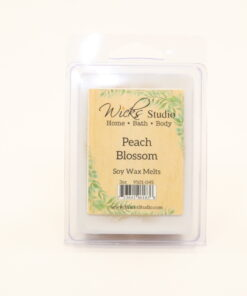 3oz break apart melts peach blossom